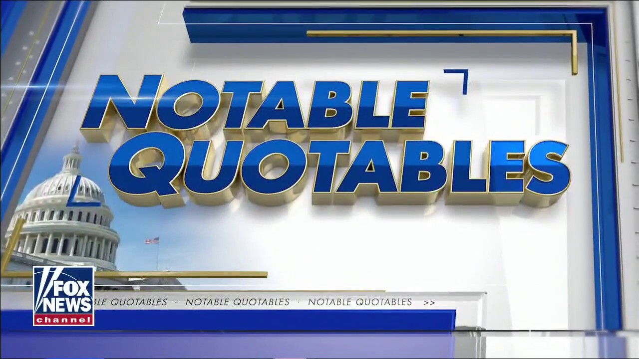 Notable Quotables for Friday, Jan. 1, 2021