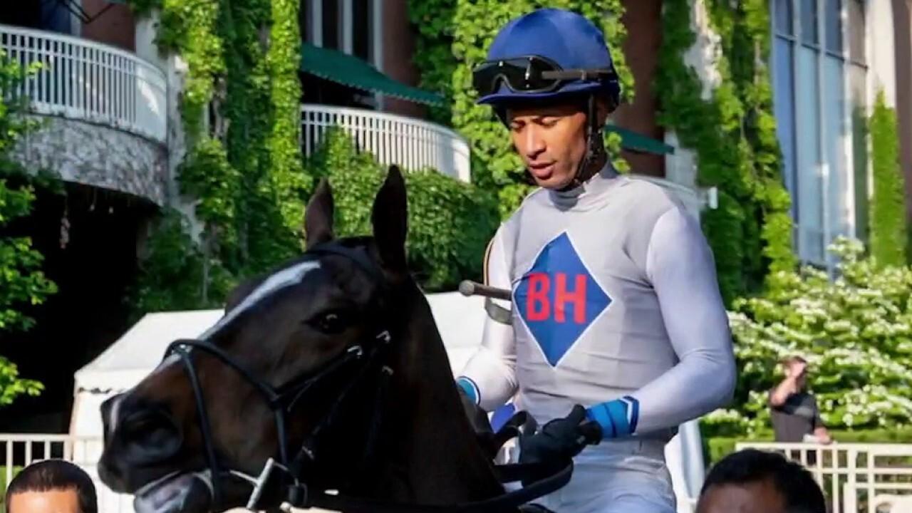 Kendrick Carmouche is Kentucky Derby's first Black jockey since 2013