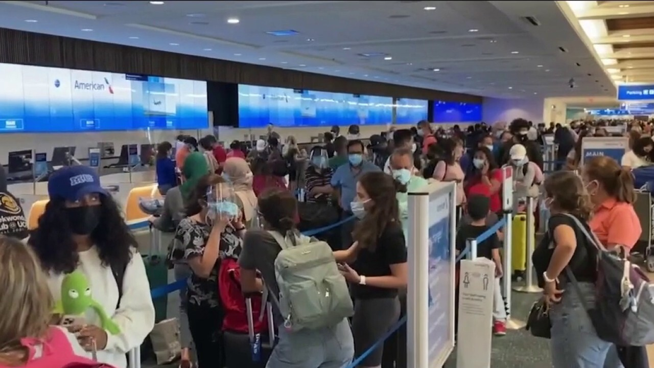 TSA screens 1.9M people Friday during Memorial day weekend travel