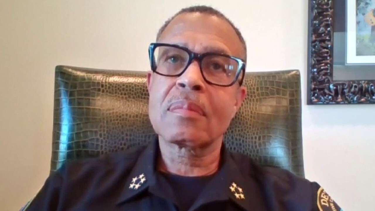 Detroit police chief on calls from protesters to defund law enforcement