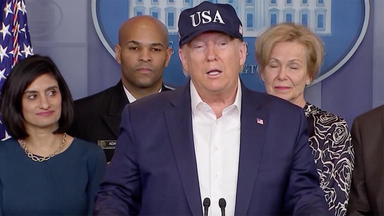 Trump halts U.S. funding of W.H.O. over handling of coronavirus