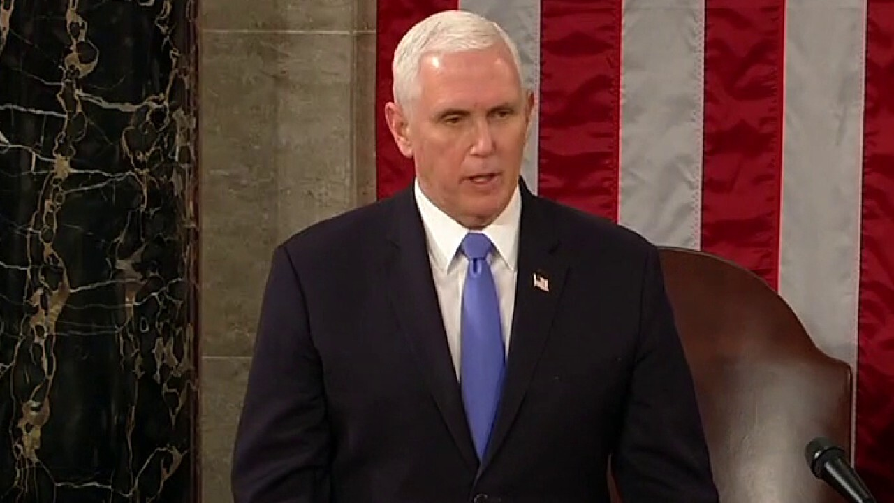 Wallace: Pence choosing the Constitution over Trump was the right and only choice