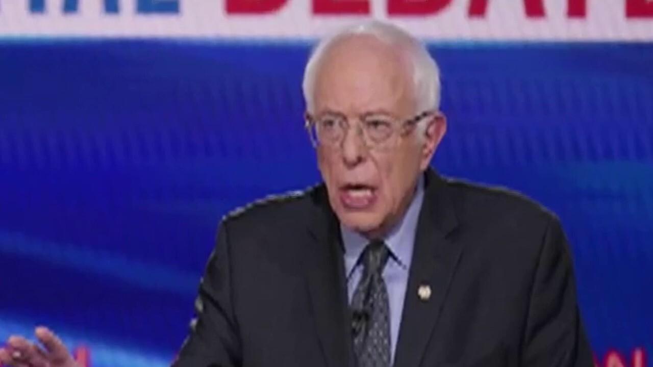 Political pandering on full display at Democratic presidential debate between Biden and Sanders