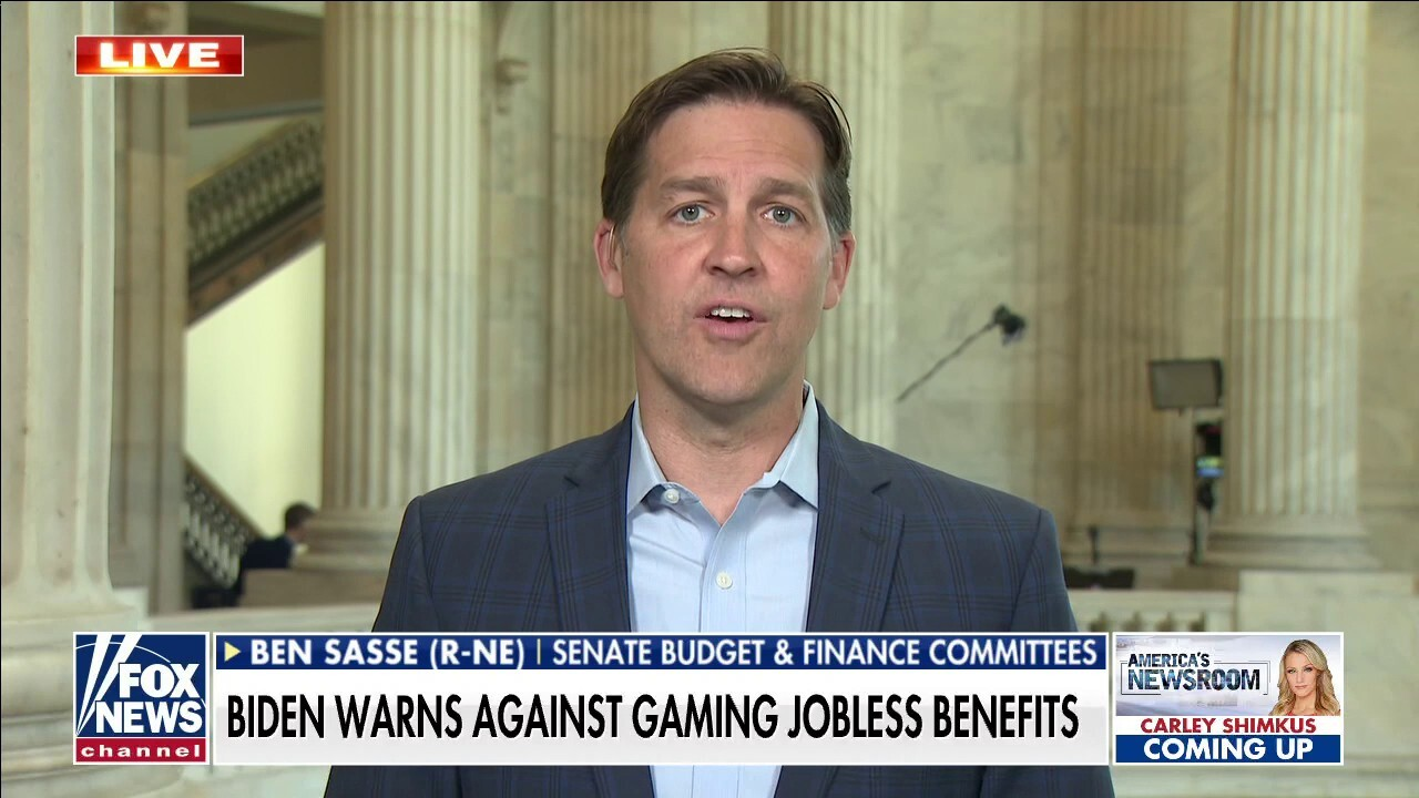 'Massive policy failure': Sen. Sasse blasts Biden's unemployment benefits