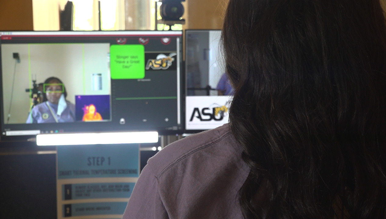 Technology on college campuses fight against COVID19