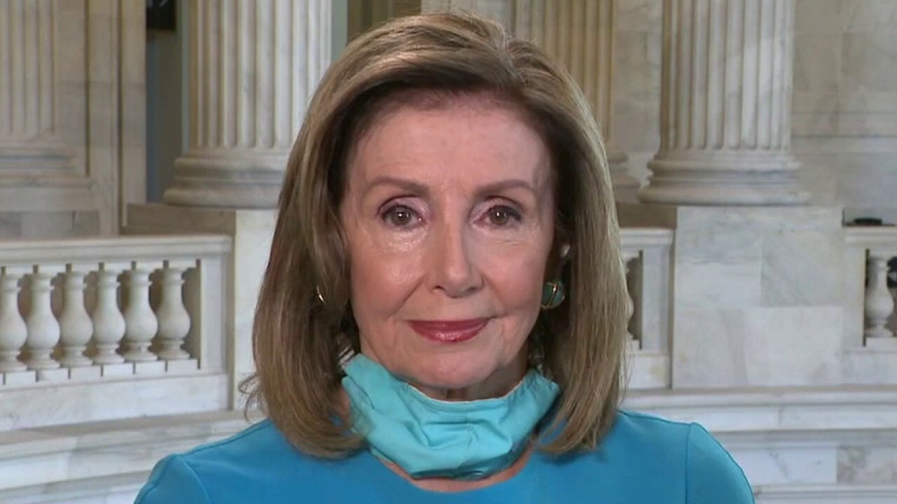 House Speaker Nancy Pelosi slams Trump's executive order as an 'illusion'