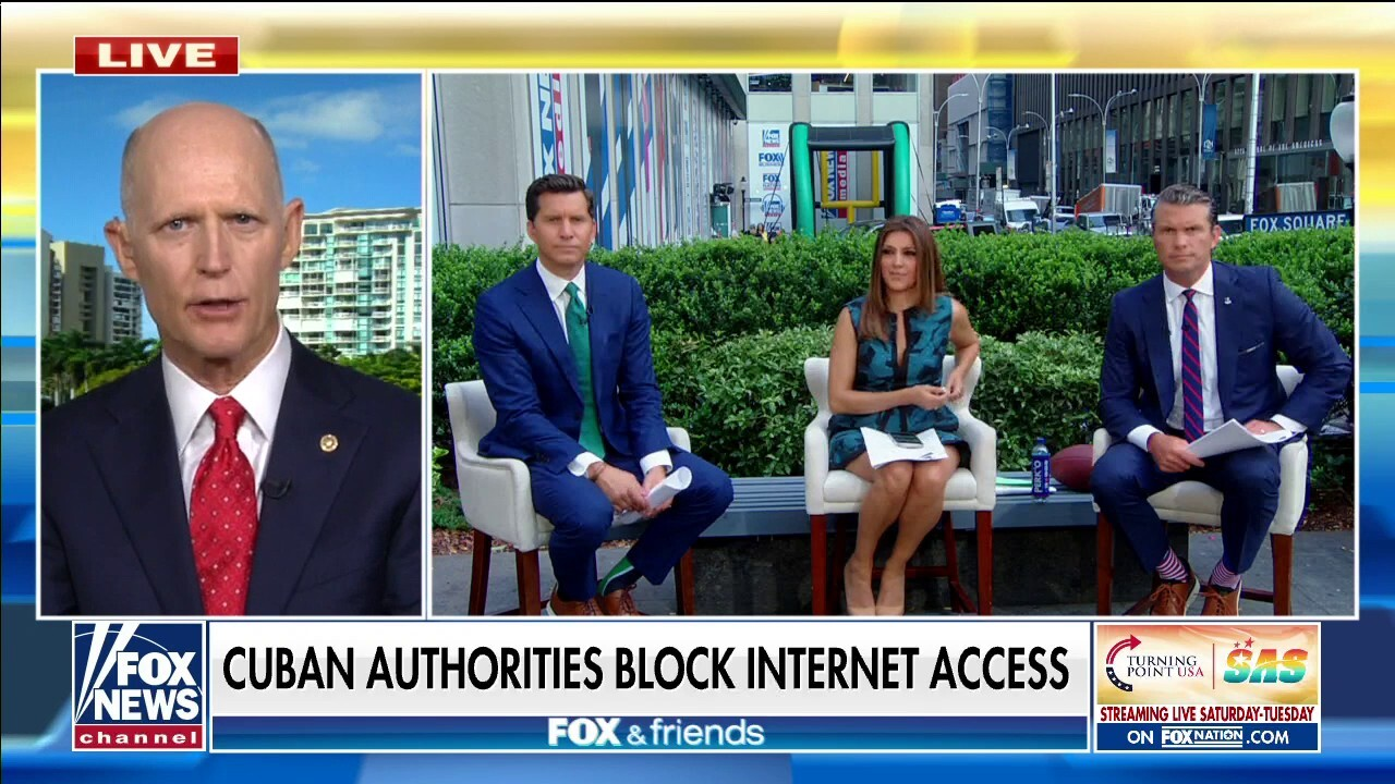 Sen. Rick Scott working to restore internet to Cuban protesters