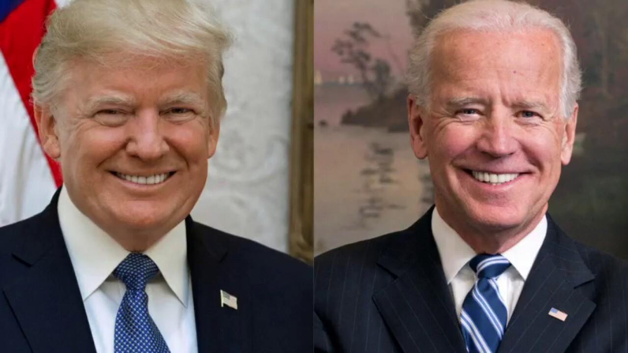 Joe Biden leads President Trump in three battleground states