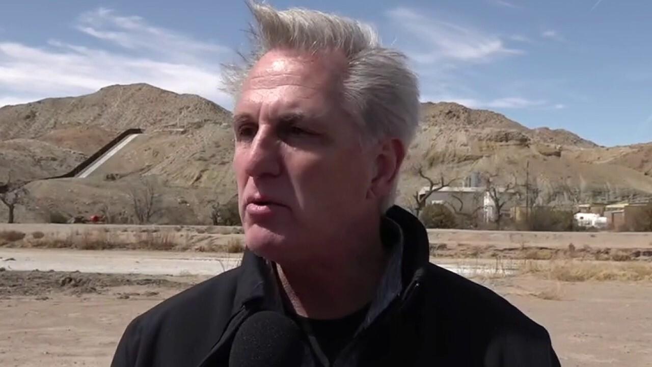 GOP visits border as Biden migrant crisis swells