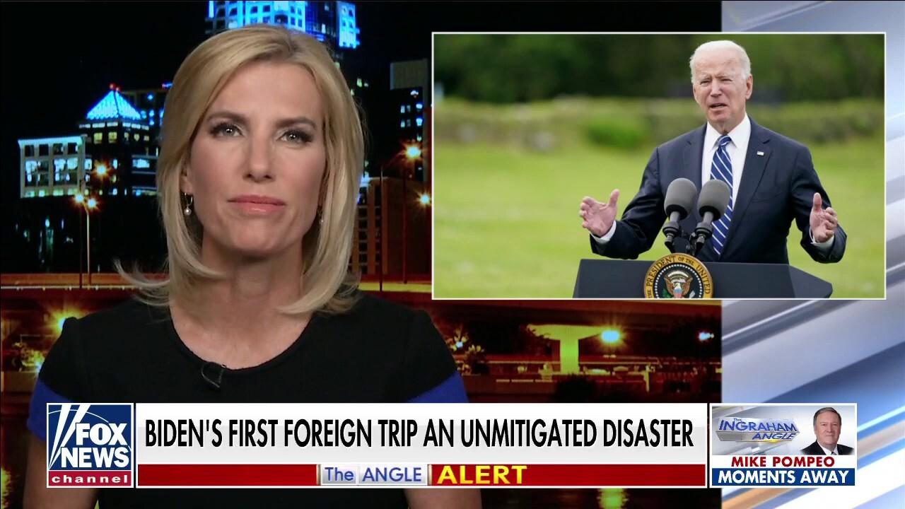 Ingraham: Biden's G7 performance an 'unmitigated disaster'