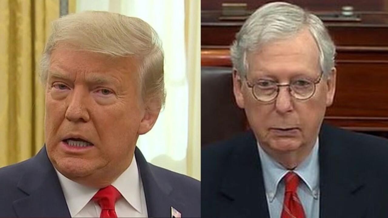Trump could kill COVID bill
