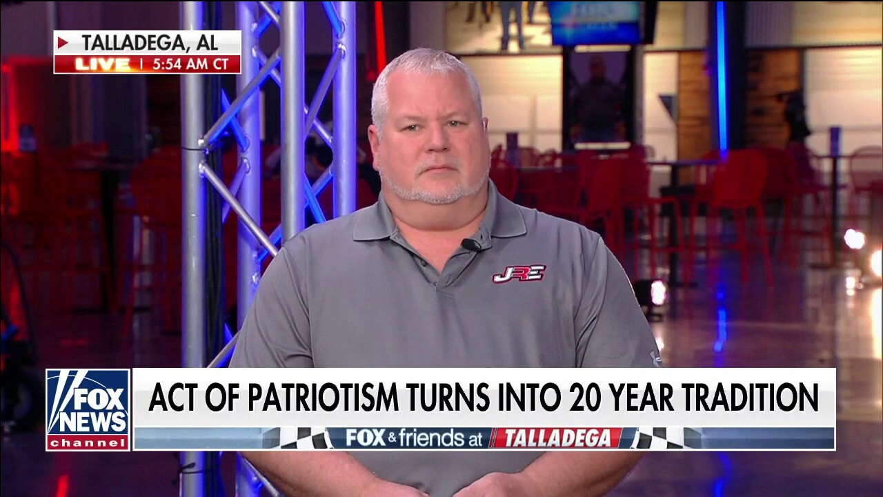 Race car driver John Ray's son to continue 20-year tradition of patriotism