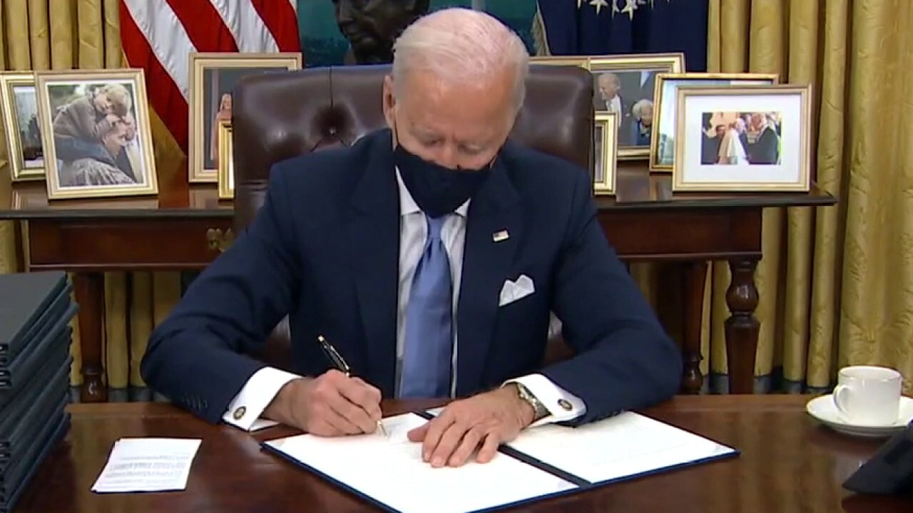 Joe Biden's first week...and impeachment