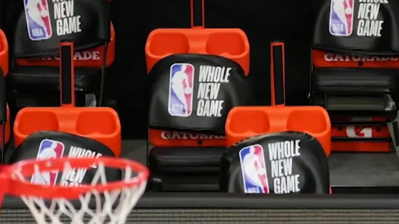 NBA restarts season in 'the bubble' amid coronavirus concerns