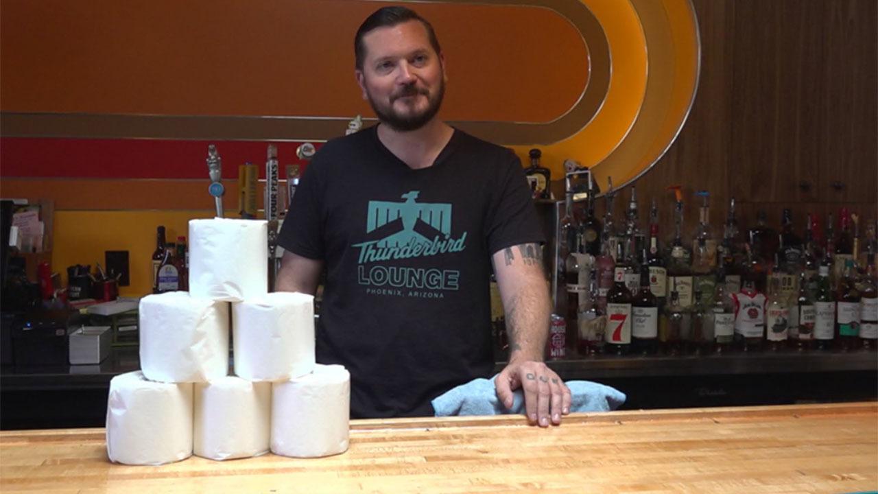 Coronavirus closures: Arizona bar finds creative way to keep business going