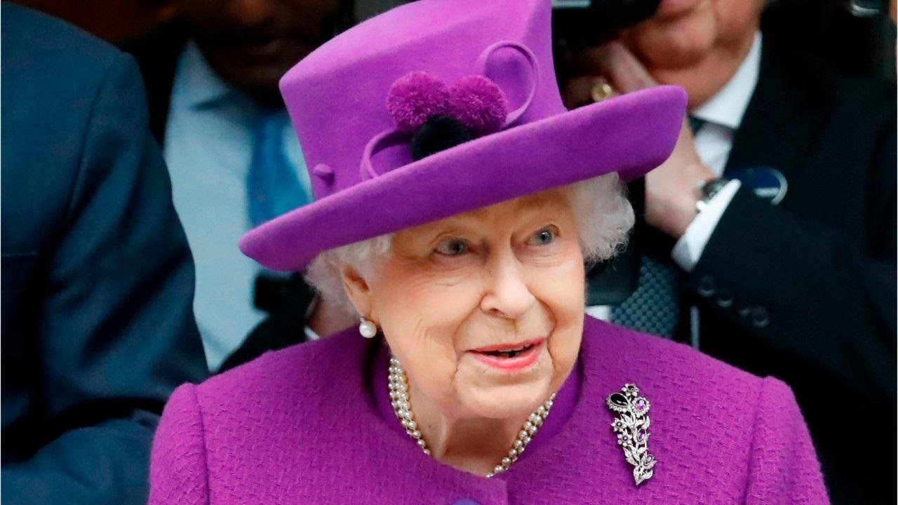 Queen Elizabeth Dank Gesundheitsversorgung Arbeitnehmer während der Corona-Virus-Pandemie