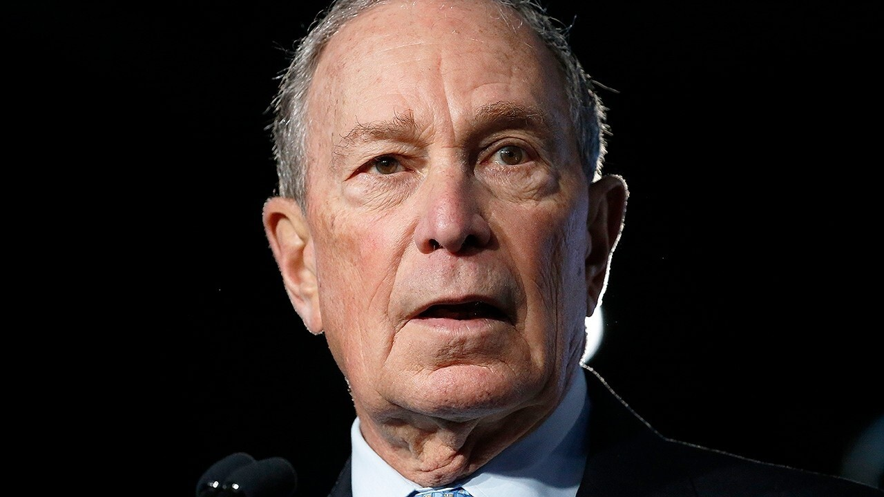 Bloomberg not on the ballot but on candidates' minds in Nevada