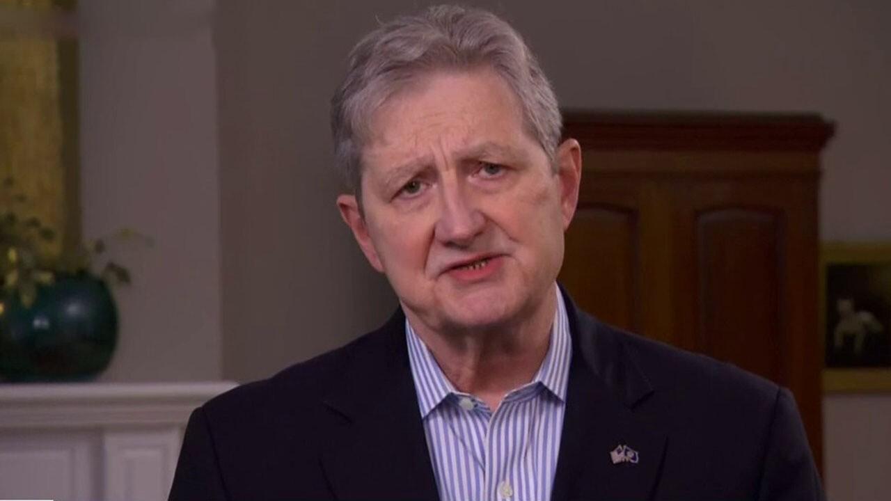 Sen. Kennedy on Biden's costly spending agenda, battle to reopen schools