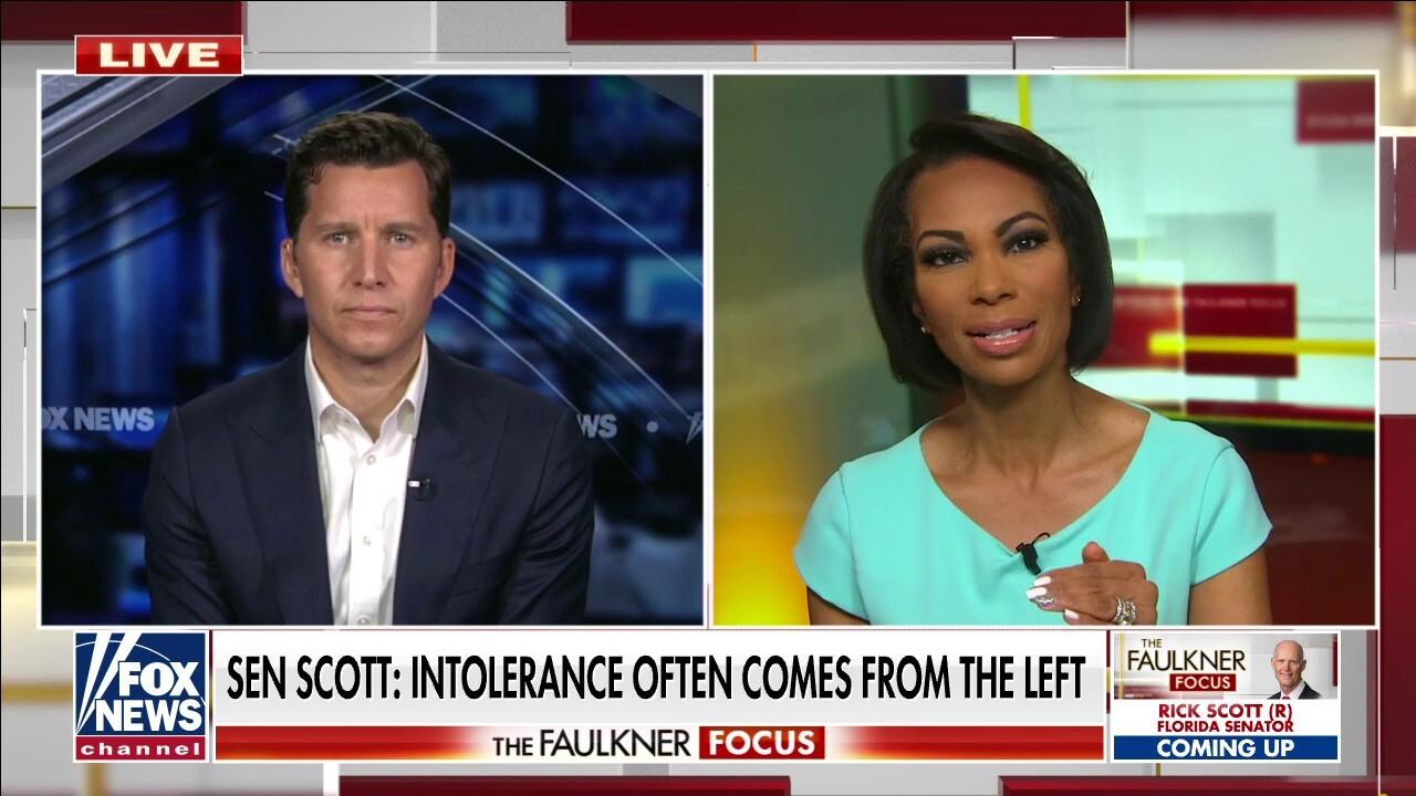 Will Cain slams Twitter's 'virtue signal' after Tim Scott address