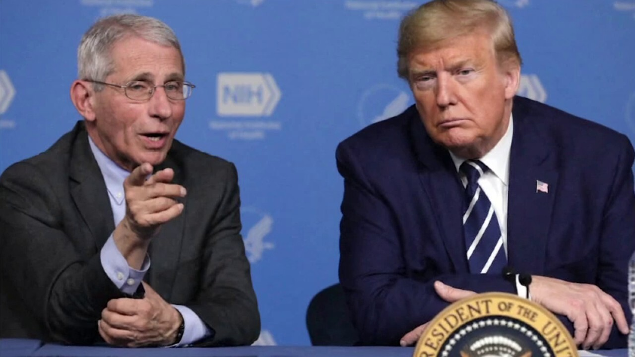 Fauci resisted Trump directive to cancel virus research grant linked to Wuhan lab: Book