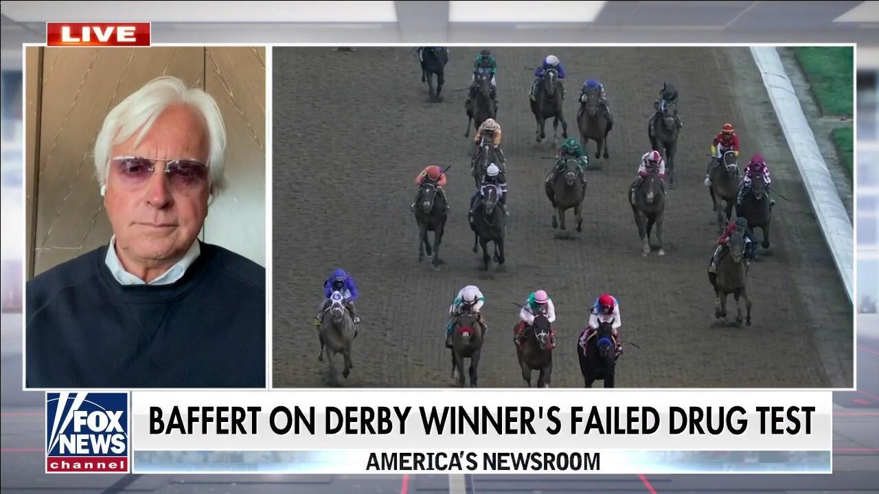 Trainer Bob Baffert on Derby winner Medina Spirit's failed drug test: 'It did not happen'