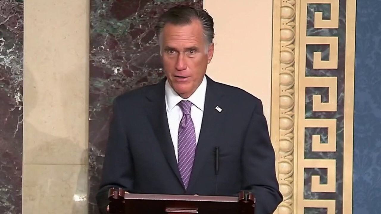 Romney praises Supreme Court nominee Barrett's 'integrity,' slams 'division and contempt for others' in US