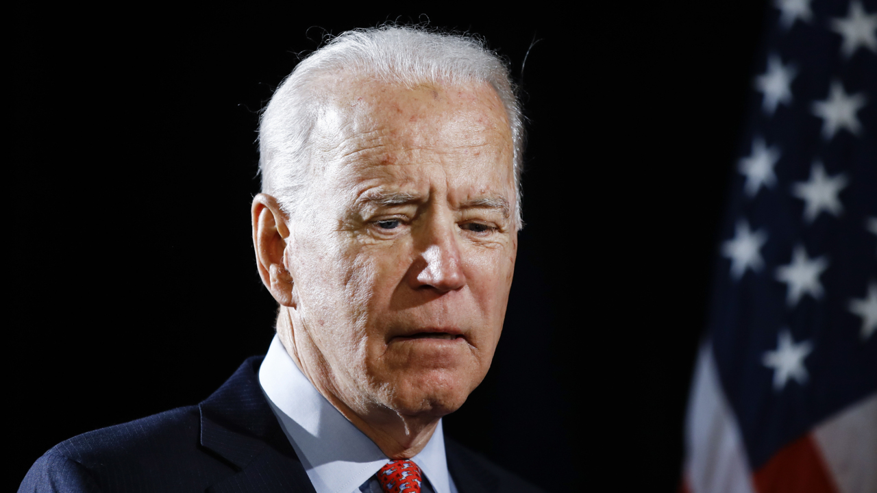 Biden says accuser changed story