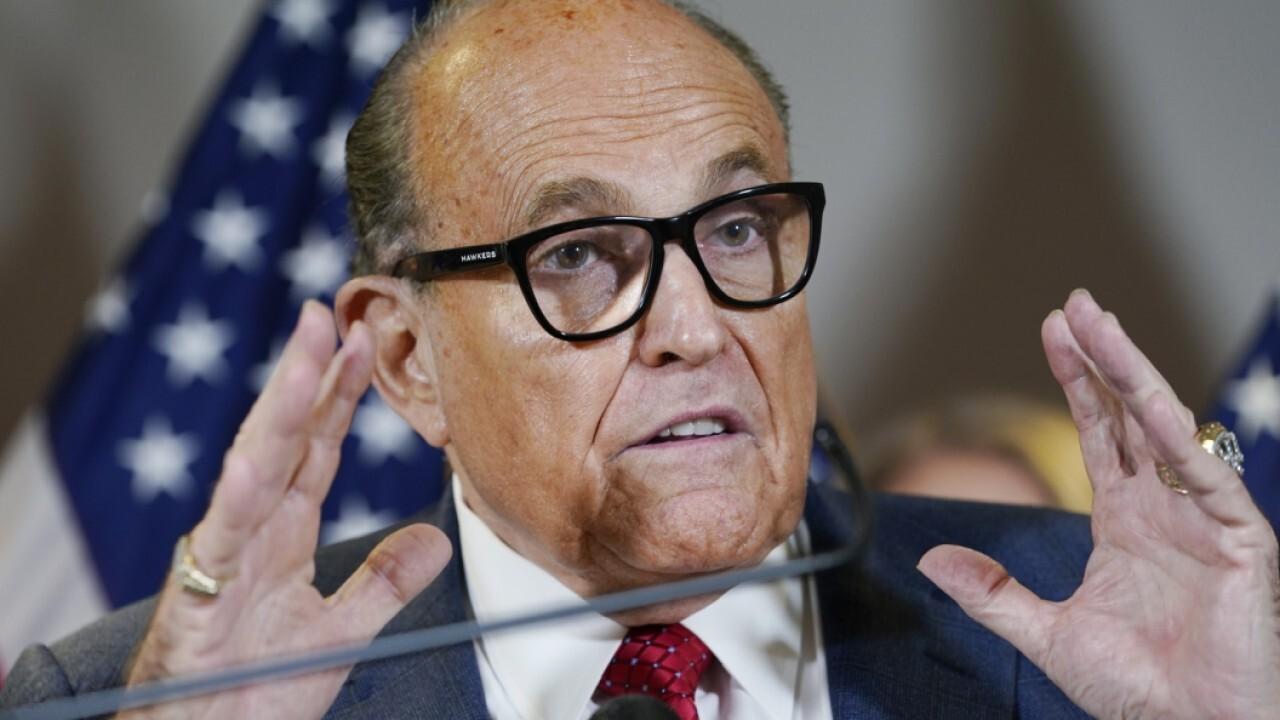 Media's false Giuliani accusation