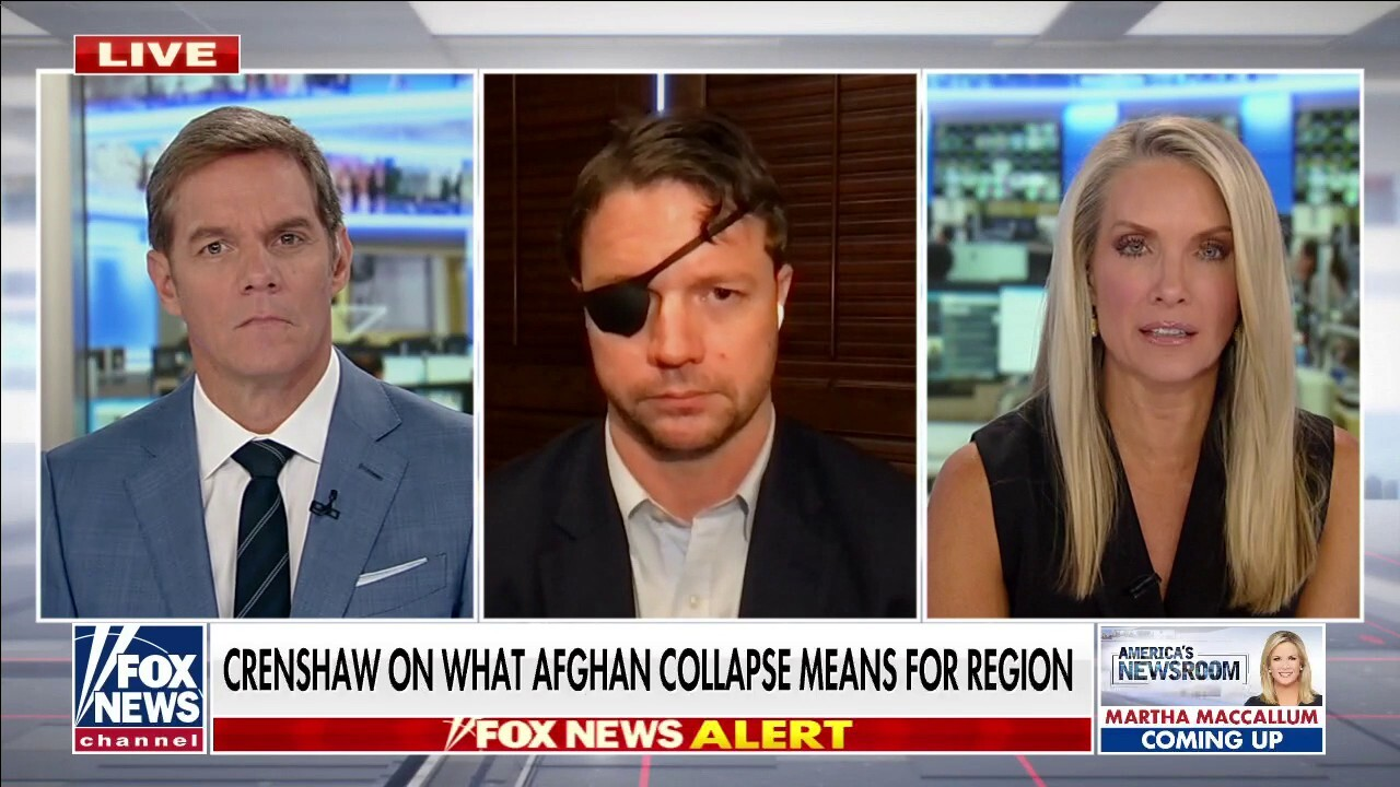 Crenshaw blasts Biden's handling of Afghanistan as 'so utterly incompetent'