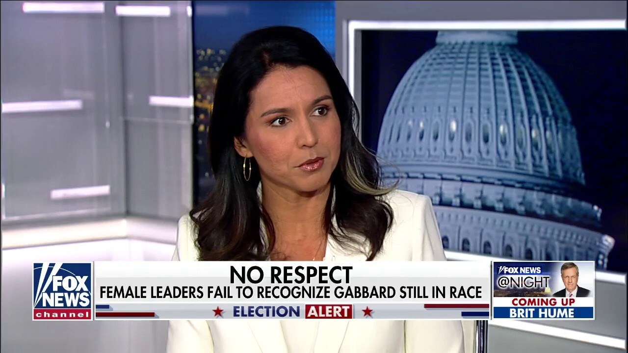 Rep. Tulsi Gabbard talks failure on behalf of of the DNC to recognize female leaders