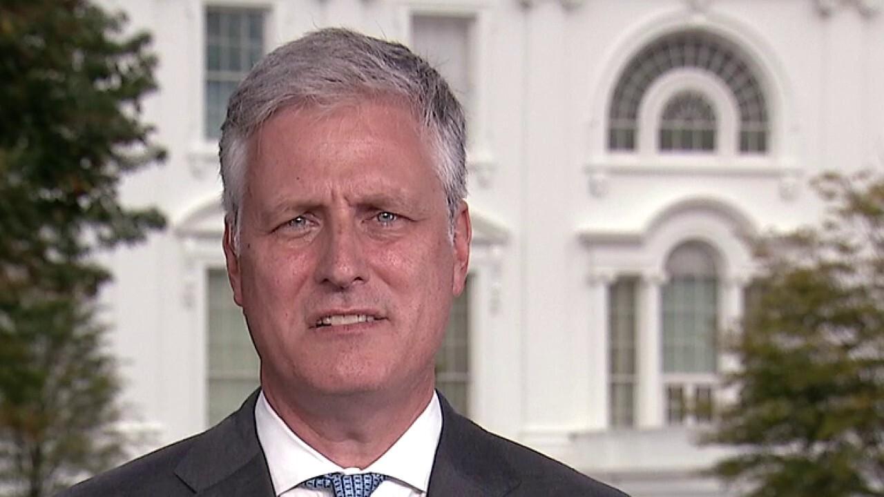 National Security Advisor reacts to Trump's troop drawdown
