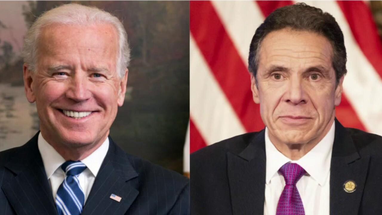 Biden breaks silence on Andrew Cuomo sexual harassment scandal