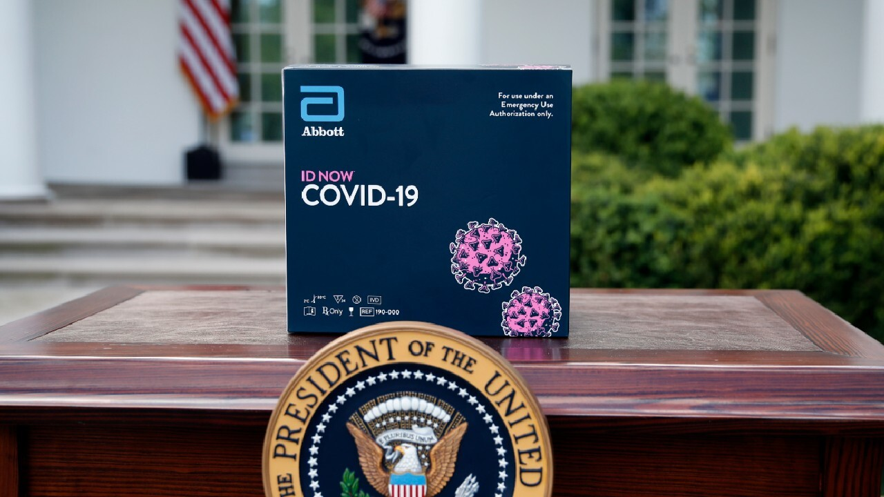 Trump announces new rapid test technology that identifies COVID-19 in minutes