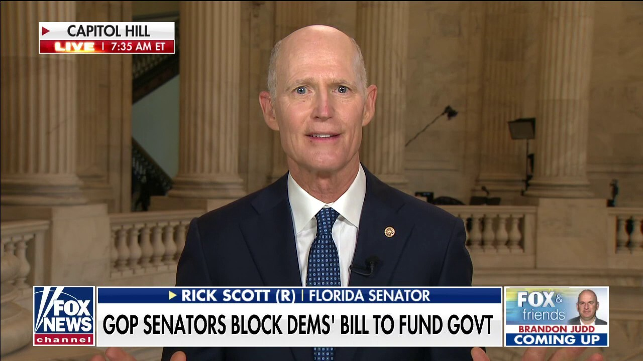 Sen. Rick Scott rips Dems push to 'suspend' debt ceiling: 'Bankrupting this country, it's disgusting'