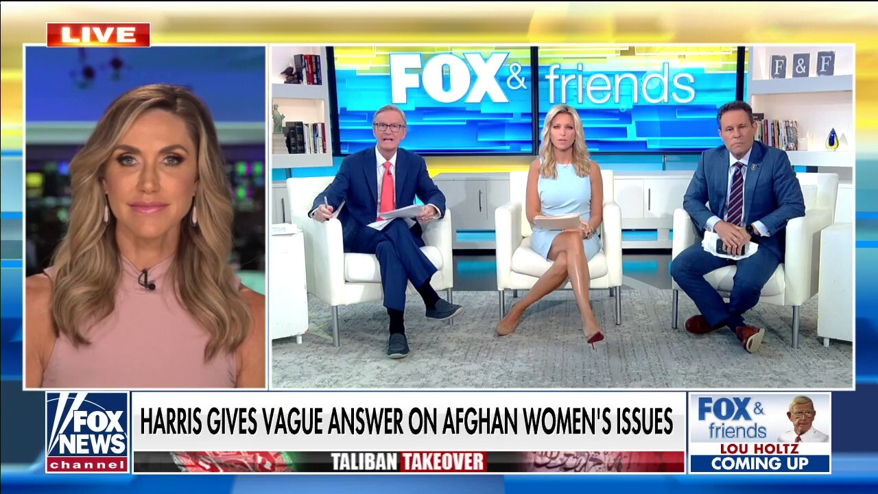 Lara Trump slams Kamala Harris for traveling to Asia, avoiding questions while Afghanistan crisis continues