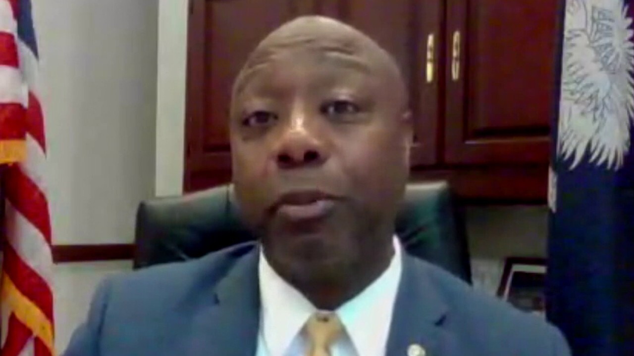 Sen. Tim Scott on Democrats blocking GOP police reform bill: This is pure race politics at its worst