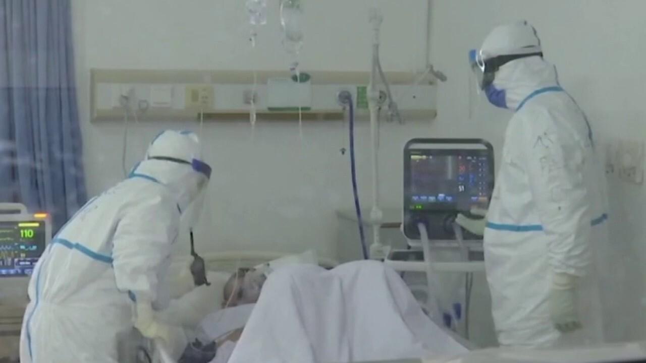 Doctors on frontlines of coronavirus battle