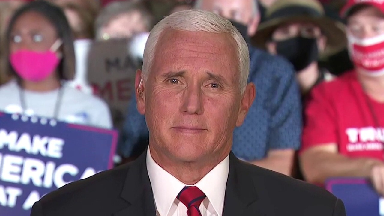 Pence: Americans 'deserve an answer' from Joe Biden on Hunter's scandal