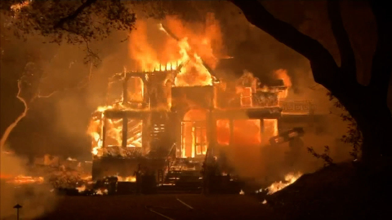 The Glass Fire continues to rage through NAPA and Sonoma counties