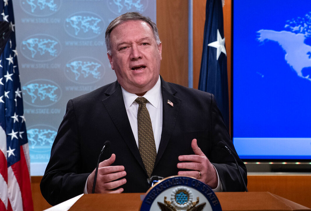 Westlake Legal Group image Pompeo accuses Iran of echoing 'Hilter's call for genocide' over 'final solution' rhetoric Tyler Olson fox-news/world/world-regions/israel fox-news/world/conflicts/iran fox-news/politics/foreign-policy/state-department fox-news/politics/foreign-policy/middle-east fox-news/politics/foreign-policy fox news fnc/politics fnc article 4dc69143-e1f4-5a4d-a22b-363e52af7cdb