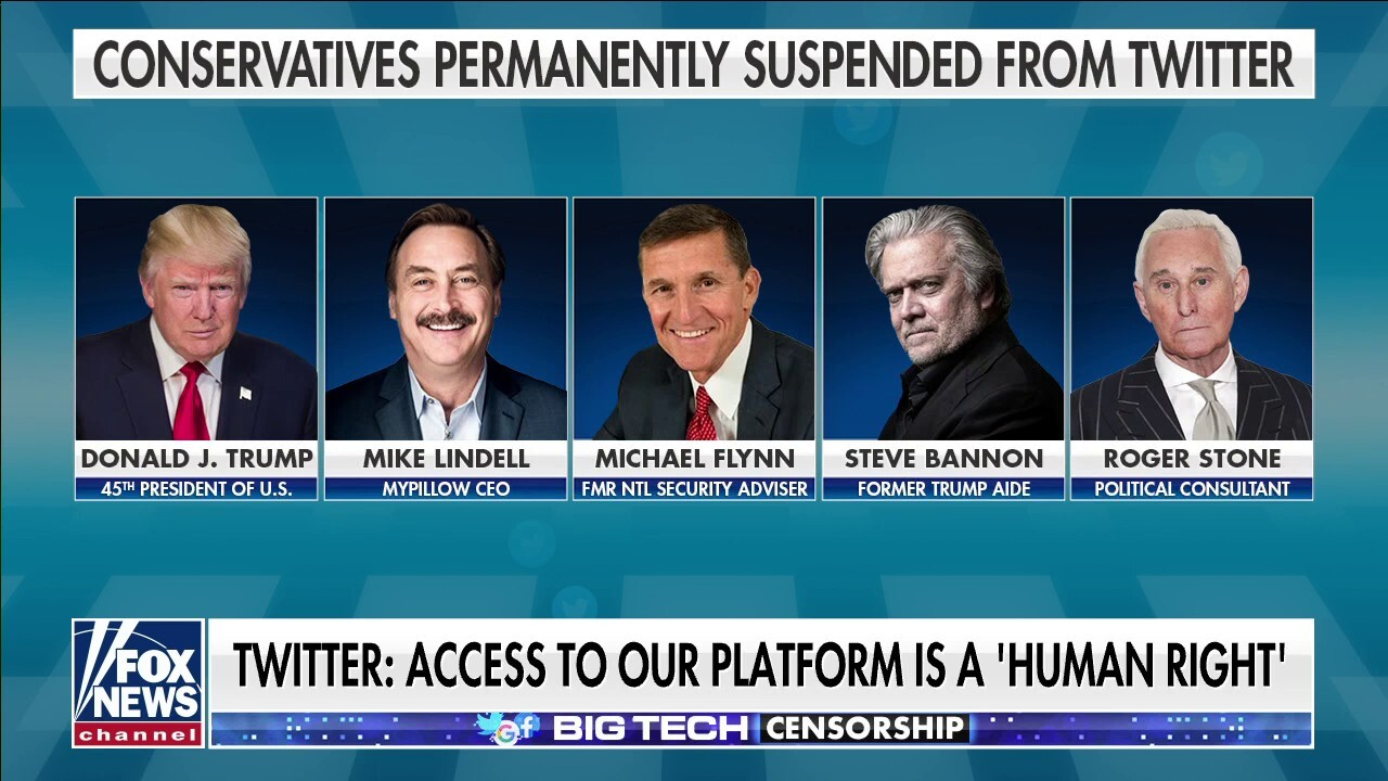 Concha to Twitter: Why are conservatives losing account access?