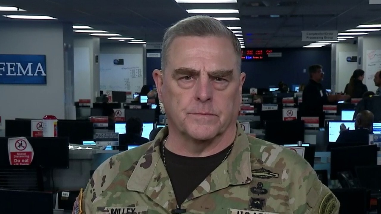 Gen. Milley on Navy removal of aircraft carrier captain over COVID-19 letter
