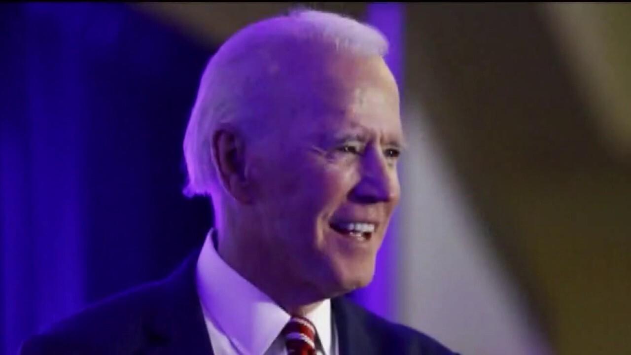 President Trump attacks Joe Biden over police funding