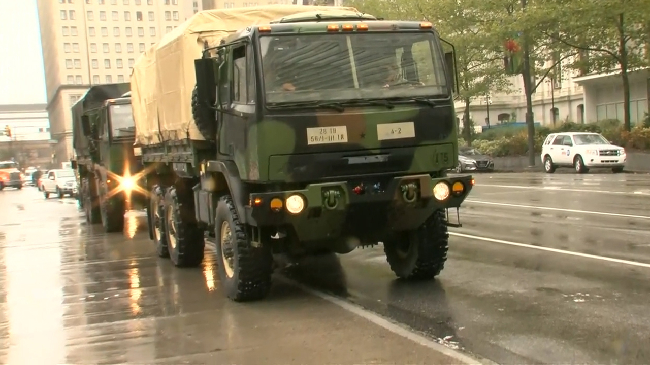 National Guard arrives in Philadelphia