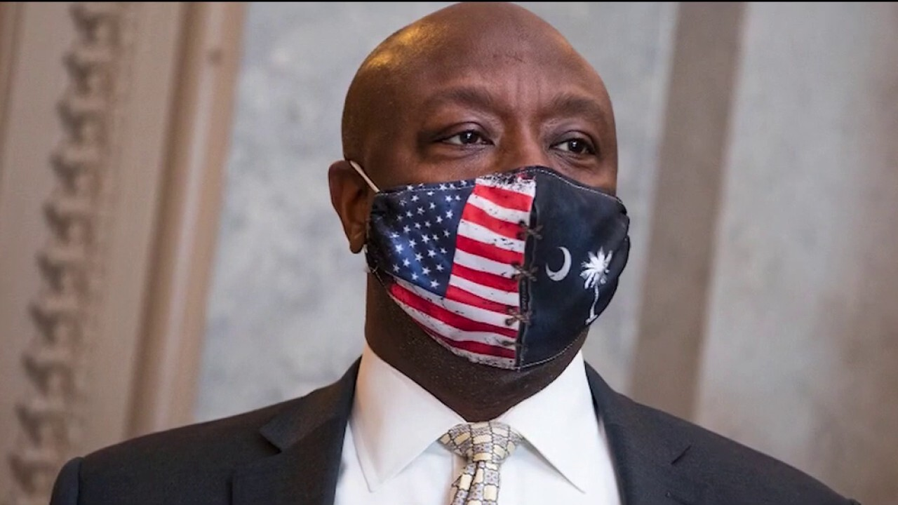 Tim Scott praised by colleagues as rising GOP star after address