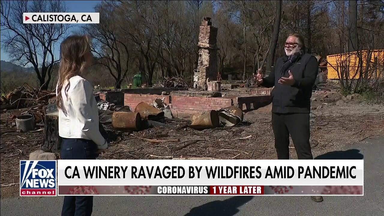 Business owner on overcoming wildfire damage amid coronavirus pandemic