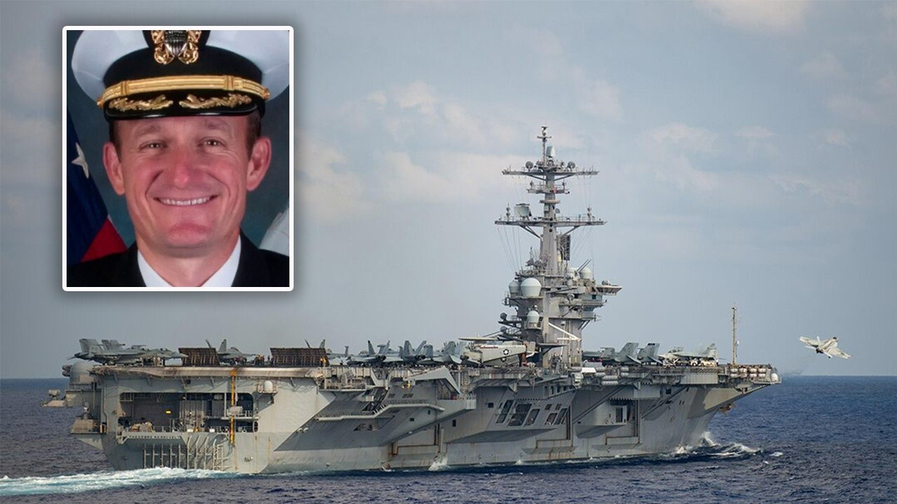 Acting Navy Secretary blasts ousted USS Theodore Roosevelt's captain as 'naïve' and 'stupid' in address to ship's crew