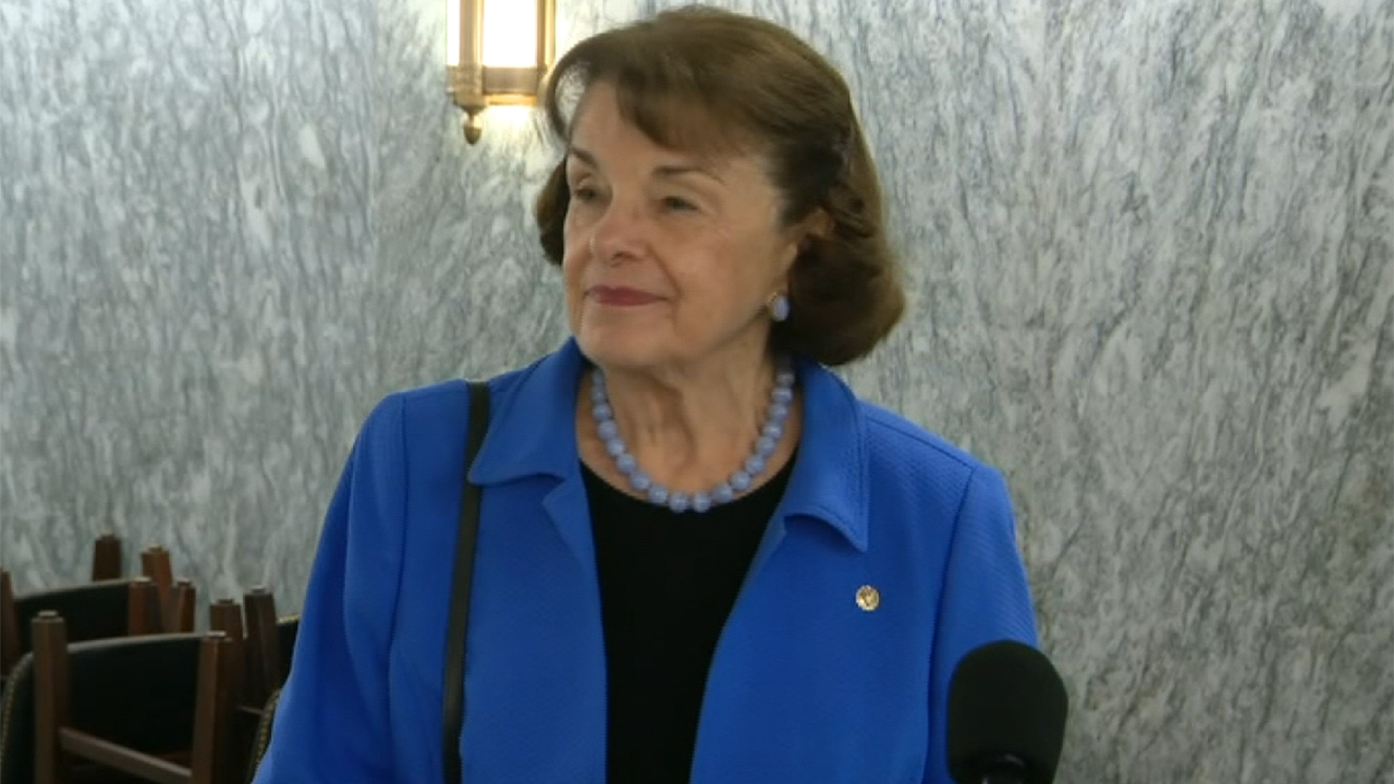 Sen. Dianne Feinstein says defunding police 'is not' something she supports