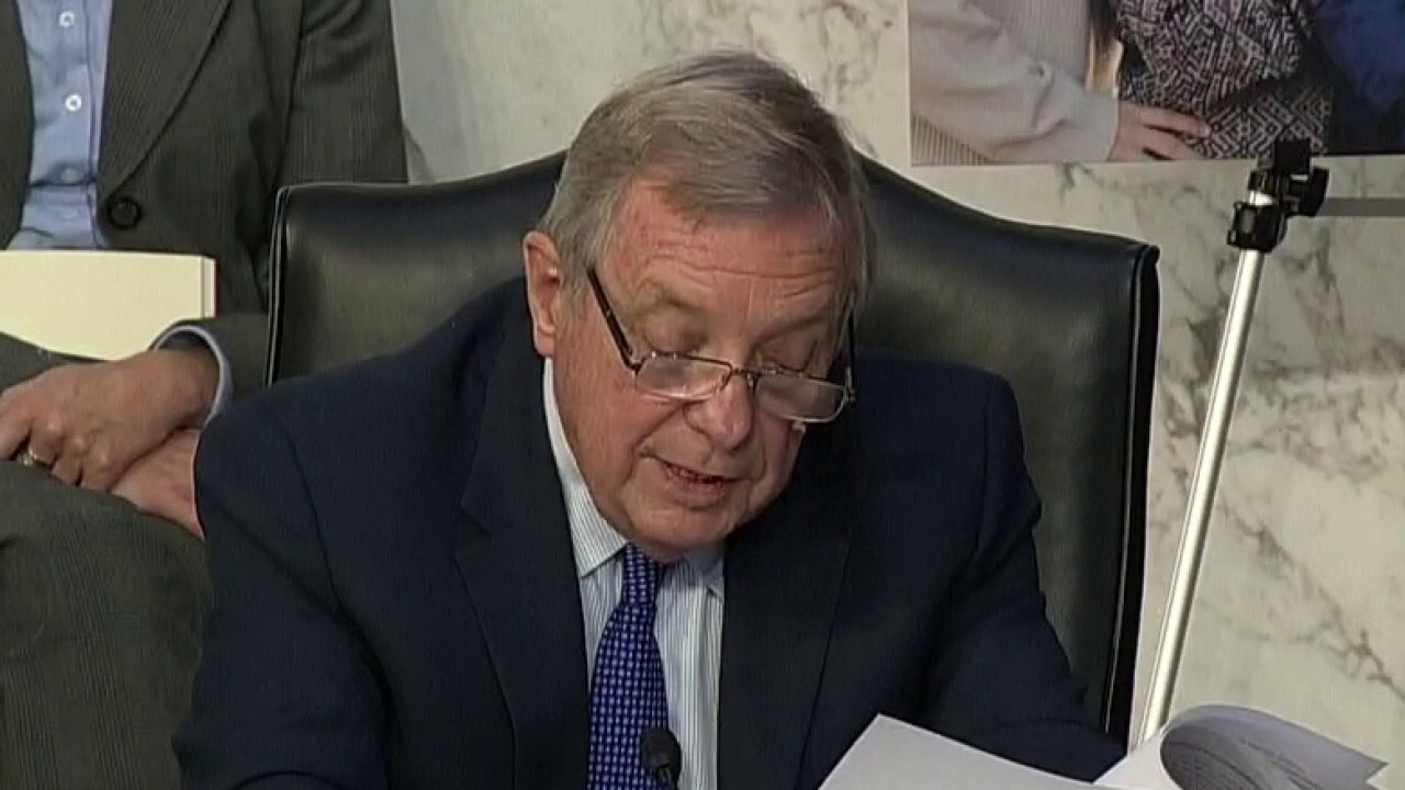 Durbin pushes Barrett on past ObamaCare comments