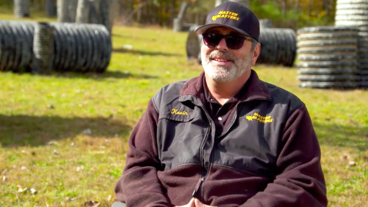 Former executive tells Fox Nation why he quit to become paintball pro